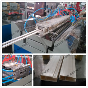 Double PVC Profile Extrusion Line Machine for Window and Door pictures & photos