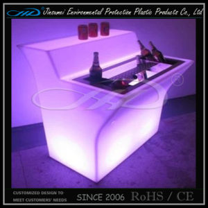Modern Stylecoffee Shop LED Cafe Commercial Restaurant Bar Counter for Sale pictures & photos