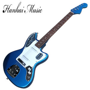 Hanhai Music / Blue Electric Guitar with Metallic Blue Body pictures & photos