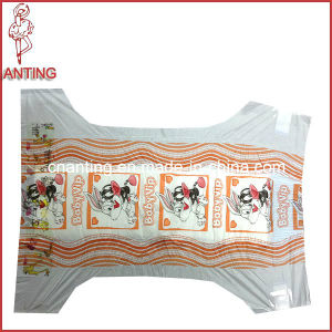 High Quality Baby Diaper with Cotton Backsheet and Magic Tape pictures & photos