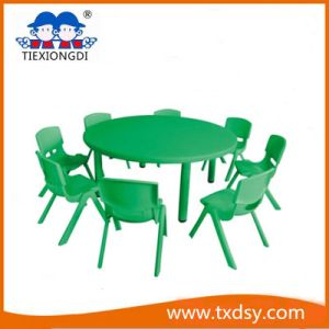Kids Plastic Tables and Preschool Chairs pictures & photos