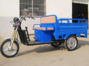 Hot Sale Electric Tricycle Rickshaw 600W pictures & photos