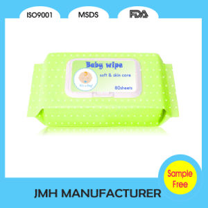 2016 New Arrival Comfort Spunlace Nonwoven Organic Baby Wipe (BW001) pictures & photos