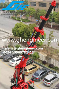 Hot Sale Hydraulic Knucke Telescopic Boom Truck Crane pictures & photos