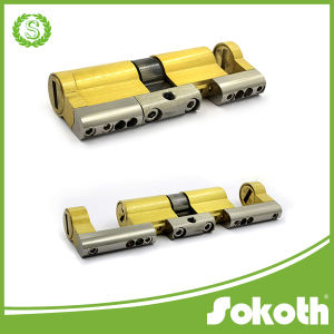 Adjustable Double Open Brass Cylinder Lock pictures & photos