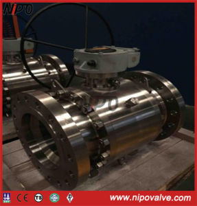 API 6D Forged Steel Flanged Trunnion Ball Valve (Q347F) pictures & photos