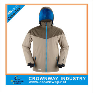 Customized Snowboard Waterproof Hunting Jackets with Breathable Membrane pictures & photos