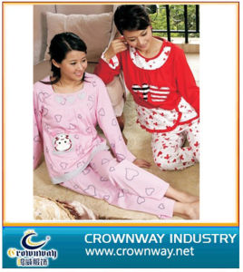 Ladies Nightwear with High Quality (CW-APAJAMAS-3) pictures & photos