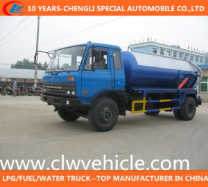 Dongfeng 4X2 Vacuum Suction Truck/Sewage Suction Truck pictures & photos