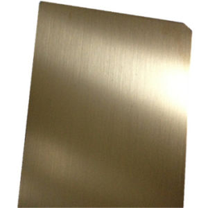 Foshan 304 Stainless Steel Copper Color Bright Brushed Finish Sheet Price 0.8mm 1.0mm 1.2mm Thickness pictures & photos