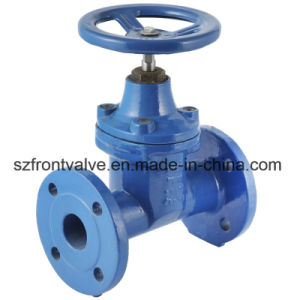 Cast Iron/Ductile Iron DIN3202 F5 Flanged Gate Valve pictures & photos