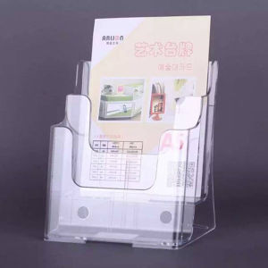 Wholesale Plastic Brochure Holder/Magazine Holder/Leaflet Holder/Literature Holder