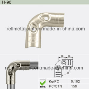 Nickel Plated Joint for Lean Pipe System (H-90) pictures & photos