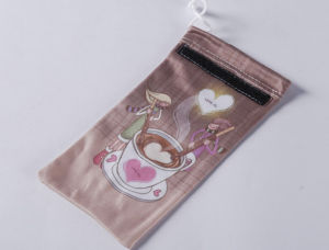 Microfiber Mobile Phone Pouch with Soft Cases, Logo Printing and Single/Double Drawstring (XY-00223) pictures & photos