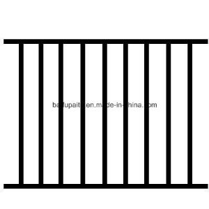 Iron Fence Iron Fencing Metal Fences China Wrought Iron Balcony Rail pictures & photos