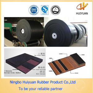 Black Rubber Industrial Conveyor Belt pictures & photos