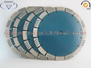 9′′ Diamond Saw Blade with Turbo Segments for Granite Sandstone pictures & photos