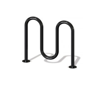 Black Powder Coated M Style Bike Rack pictures & photos