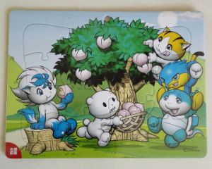 Promotional Paper Printing Puzzle Jigsaw pictures & photos