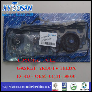for Toyota Full Gasket for 2kdftv Hilux D-4D- OEM-04111-30030 pictures & photos