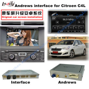 Car Multimedia Android GPS Navigation Video Interface for (13-16) Citroen C4L HD Support WiFi/Mirrorlink pictures & photos