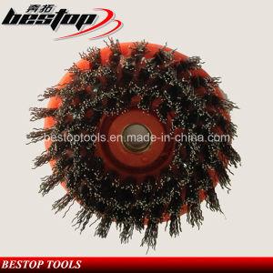 Round Antique Abrasive Brush for Arm Polishing Machine pictures & photos