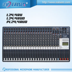 High Performance Teyun Pl14/4rud Mixing Console Series with 3-Band EQ pictures & photos