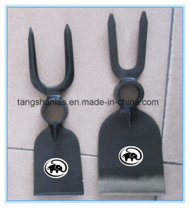 Railway Steel Fork Hoe for Gardening Using pictures & photos