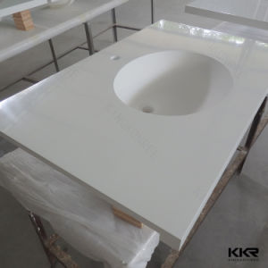 Hot Solid Surface Bathroom and Kitchen Vanity Top pictures & photos