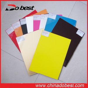 ABS Double Color Cutting and Engraving Board pictures & photos