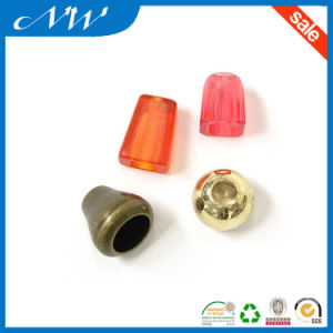 Colorful Plastic Cord End Stopper for Garments