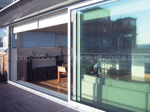 New Design Aluminium Profile Sliding Soundproof Doors pictures & photos
