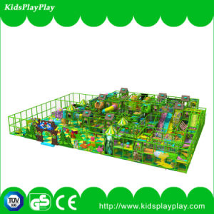 New Design Jungle Big Indoor Soft Playground with Trampoline Park pictures & photos