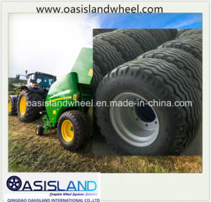 Farm Agricultural Tire 500/50-17 with Rim for Baler pictures & photos