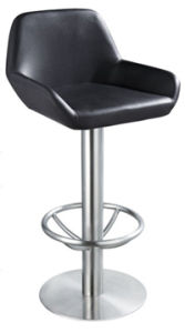 Square Base Stainless Steel Bar Chair pictures & photos