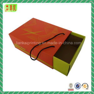 Custom Colored Corrugated Drawer Shoe Box with Strings pictures & photos