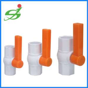 Irrigation Plastic UPVC Ball Valve with Thread pictures & photos