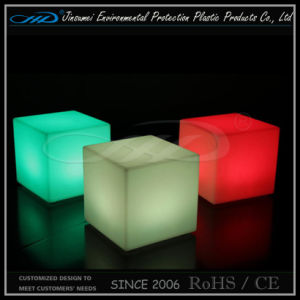Remote Control Recharging Waterproof Outdoor Use Furniture RGB LED Cube pictures & photos