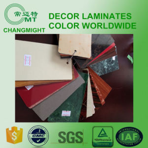 Wood Kitchen Cabinet/HPL Laminate/HPL Laminated Sheet Manufacture pictures & photos