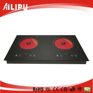 Double Burner Cookware of Home Appliance, Kitchenware, Infrared Heater, Stove, (SM-DIC09-2) pictures & photos