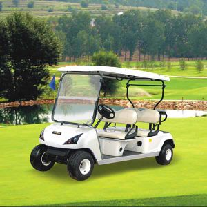 CE 4 Seats Cheap Electric Golf Cart for Golf (DG-C4) pictures & photos
