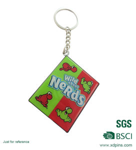 Hot Selling Custom Design Printing Metal Keychain for Decoration pictures & photos