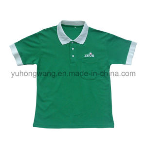 Promotion Cotton Men′s Printed T-Shirt, Polo Shirt pictures & photos