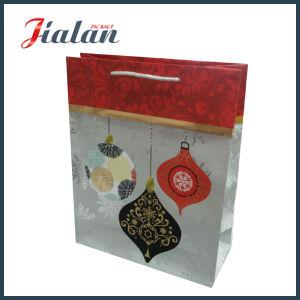 Merry Christmas Series Custom Logo Cheap Printed Paper Garments Bag pictures & photos