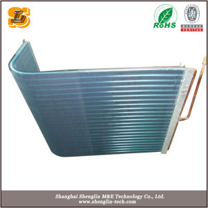 Hydrophilic Blue Fin Copper Tube Evaporator Condenser for AC pictures & photos