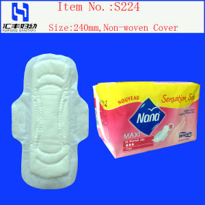 Free Samples with High Absorbency Sanitary Towels (D280) pictures & photos