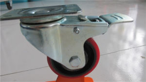 Medium Duty PU on Cast Iron Core Wheel pictures & photos