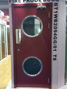 High Quality of Fire Resistance Door for Emergency Exit pictures & photos
