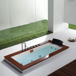 Monalisa Built-in Villa and Hotel Modern Design Bathtub (M-2040) pictures & photos