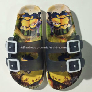 New Style Kids Print Cartoon EVA Sandal Slipper (FY16) pictures & photos